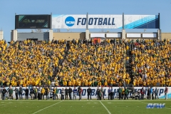 FRISCO, TX - JANUARY 06: North Dakota state fans fill the stands during the FCS National Championship game between North Dakota State and James Madison on January 6, 2018 at Toyota Stadium in Frisco, TX. (Photo by George Walker/Icon Sportswire)