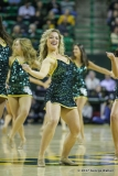 WACO, TX - FEBRUARY 04: Baylor songleaders perform during the men's basketball game between Baylor and Kansas State on February 4, 2017, at the Ferrell Center in Waco, TX. (Photo by George Walker/Icon Sportswire)