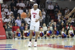 DALLAS, TX - FEBRUARY 11: SMU vs Cincinnati on February 11, 2018, at Moody Coliseum in Dallas, TX. (Photo by George Walker/SMU)