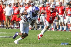 DALLAS, TX - SEPTEMBER 16: TCU Horned Frogs wide receiver KaVontae Turpin (25) during the game between the SMU Mustangs and TCU Horned Frogs on September 16, 2017, at Amon G. Carter Stadium in Fort Worth, Texas. (Photo by George Walker/DFWsportsonline)