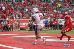 HOUSTON, CA - OCTOBER 07: Southern Methodist Mustangs wide receiver Trey Quinn (18) during the game between SMU and Houston on October 7, 2017, at TDECU Stadium in Houston, TX. (Photo by George Walker/DFWsportsonline)