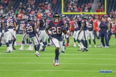 HOUSTON, TX - OCTOBER 08: Houston Texans running back Lamar Miller (26) during the game between the Houston Texans and Kansas City Chiefs on October 8, 2017, at NRG Stadium in Houston, TX. (Photo by George Walker/DFWsportsonline)