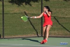 DALLAS, TX - OCTOBER 13: Sarai Monarrez Yesaki of SMU during the ITA Regional tournament on October 13, 2017, at the Bayard H. Friedman Tennis Center in Fort Worth, TX. (Photo by George Walker/DFWsportsonline)
