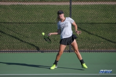 DALLAS, TX - OCTOBER 13: Action during the ITA Regional tournament on October 13, 2017, at the Bayard H. Friedman Tennis Center in Fort Worth, TX. (Photo by George Walker/DFWsportsonline)