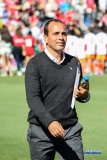 OCTOBER 22, 2017: FC Dallas head coach Oscar Pareja during the MLS game between FC Dallas and LA Galaxy on October 22, 2017, at Toyota Stadium in Frisco, TX. (Photo by George Walker/DFWsportsonline)