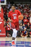 UNIVERSITY PARK, TX - NOVEMBER 10: Southern Methodist Mustangs guard Jimmy Whitt (31) brings the ball up court during the men's basketball game between SMU and UMBC on November 10, 2017, at Moody Coliseum in Dallas, TX.(Photo by George Walker/Icon Sportswire)