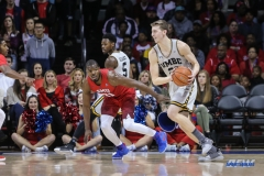 UNIVERSITY PARK, TX - NOVEMBER 10: UMBC Retrievers forward Max Curran (23) looks to pass during the men's basketball game between SMU and UMBC on November 10, 2017, at Moody Coliseum in Dallas, TX.(Photo by George Walker/Icon Sportswire)