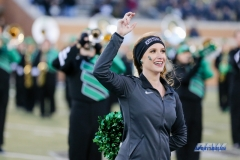 Denton, TX - November 18: North Texas Dance Team member during the game between the North Texas Mean Green and West Point Black Knights (Photo by Mark Woods/DFWsportsonline)