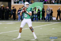Denton, TX - November 18: North Texas quarterback Mason Fine (6) during the game between the North Texas Mean Green and Army West Point Black Knights (Photo by Mark Woods/DFWsportsonline)