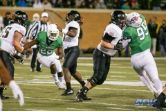 Denton, TX - November 18: Army quarterback Ahmad Bradshaw (17) during the game between the North Texas Mean Green and Army West Point Black Knights (Photo by Mark Woods/DFWsportsonline)