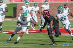 DALLAS, TX - NOVEMBER 25: Tulane Green Wave wide receiver Darnell Mooney (86) during the game between SMU and Tulane on November 25, 2017, at Gerald J. Ford Stadium in Dallas, TX. (Photo by George Walker/DFWsportsonline)