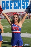 DALLAS, TX - NOVEMBER 25: SMU cheerleader during the game between SMU and Tulane on November 25, 2017, at Gerald J. Ford Stadium in Dallas, TX. (Photo by George Walker/DFWsportsonline)