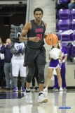 FORT WORTH, TX - DECEMBER 05: Southern Methodist Mustangs guard Jimmy Whitt (31) brings the ball up court during the game between SMU and TCU on December 5, 2017 at the Ed and Rae Schollmaier Arena in Fort Worth, TX. (Photo by George Walker/DFWsportsonline