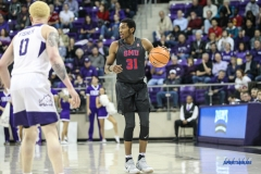 FORT WORTH, TX - DECEMBER 05: Southern Methodist Mustangs guard Jimmy Whitt (31) during the game between SMU and TCU on December 5, 2017 at the Ed and Rae Schollmaier Arena in Fort Worth, TX. (Photo by George Walker/DFWsportsonline
