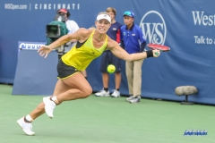 CINCINNATI, OH - Angelique Kerber (GER) during the Western & Southern Open at the Lindner Family Tennis Center in Mason, Ohio on August 16, 2017, (Photo by George Walker/DFWsportsonline