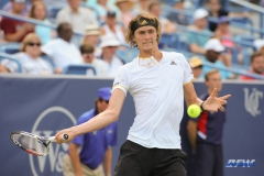 CINCINNATI, OH - Alexander Zverev (GER) during the Western & Southern Open at the Lindner Family Tennis Center in Mason, Ohio on August 16, 2017, (Photo by George Walker/DFWsportsonline