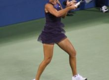 Ana Ivanovic loses in the 1st Round of the 2009 US Open. Photo by George Walker