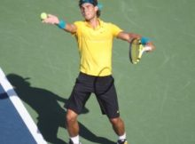 Rafael Nadal at the 2009 US Open. Photo by George Walker.