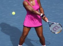 Serena Williams at the US Open. Photo by George Walker