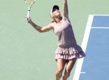 Caroline Wosniacki at the 2009 US Open. Photo by George Walker.