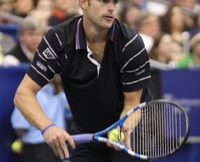 Andy Roddick at the Regions Morgan Keegan Championships. Photo by George Walker.