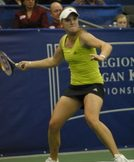 Melanie Oudin at the Regions Morgan Keegan Championships. Photo by George Walker.