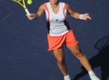 Top seeded Svetlana Kuznetsova loses in the 2nd Round at the BNP Paribas Open. Photo by George Walker.