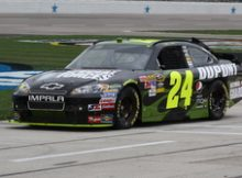 Jeff Gordon at Texas Motor Speedway for the 2010 Samsung mobile 500. Photo by George Walker