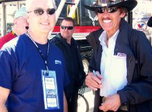 George Walker with Richard Petty at Texas Motor Speedway, 2009