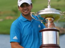 Jason Day wins the 2010 HP Byron Nelson Championship. Photo by George Walker for DFWsportsonline.com.