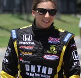 Simona de Sivestro at Texas Motor Speedway. Photo by David Dwyer for DFWsportsonline.com