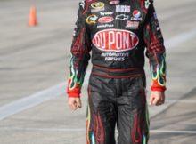 Jeff Gordon at Texas Motor Speedway. Photo by George Walker.