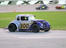 Buddy Goudy at the Summer Stampede racing series at Texas Motor Speedway. Photo by George Walker