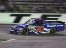 Todd Bodine at 2009 Winstar World Casino 400. Photo by George Walker