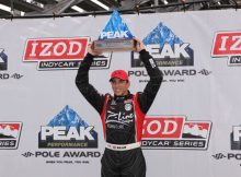 Pole winner Justin Wilson. Photo by Ron McQueeney