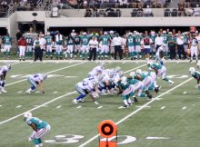 Dallas Cowboys defeat the Miami Dolphins to end the 2010 preseason. Photo by George Walker
