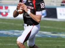 Texas Tech QB Taylor Potts. Photo by George Walker