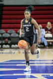 UNIVERSITY PARK, TX - JANUARY 03: UCF Knights guard Korneila Wright (2) brings the ball up court during the women's game between SMU and UCF on January 3, 2018 at Moody Coliseum in Dallas, TX. (Photo by George Walker/Icon Sportswire)