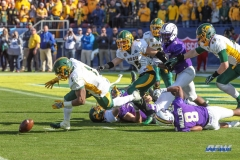 FRISCO, TX - JANUARY 6: James Madison desperation pass attempt falls to the ground during the NCAA FCS Championship football game between North Dakota State and James Madison on January 6, 2018 at Toyota Stadium in Frisco, TX. (Photo by George Walker/DFWsportsonline)