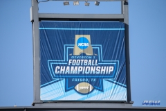 FRISCO, TX - JANUARY 06: Stadium banner during the FCS National Championship game between North Dakota State and James Madison on January 6, 2018 at Toyota Stadium in Frisco, TX. (Photo by George Walker/Icon Sportswire)