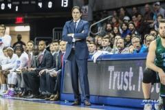 UNIVERSITY PARK, TX - JANUARY 20: Southern Methodist Mustangs head coach Tim Jankovich looks on during the game betweed SMU and Tulane on January 20, 2018 at Moody Coliseum in Dallas, TX. (Photo by George Walker/Icon Sportswire)