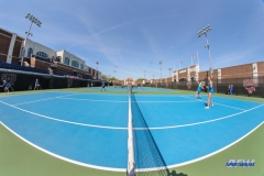 DALLAS, TX - MARCH 31: Stadium view during the SMU women's tennis match vs ECU on March 31, 2018, at the SMU Tennis Complex, Turpin Stadium & Brookshire Family Pavilion in Dallas, TX. (Photo by George Walker/DFWsportsonline)