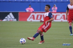APR 7, 2018: FC Dallas midfielder Jacori Hayes (15) during the MLS game between FC Dallas and Colorado Rapid on April 7, 2018, at Toyota Stadium in Frisco, TX. (Photo by George Walker/DFWsportsonline)