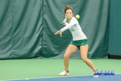 Plano, TX - April 14: Tamuna Kutubidze during the North Texas Women's Tennis dual match against the University of Arlington at the Lifetime Plano Tennis facility in Plano, TX. (Photo by Mark Woods/DFWsportsonline)