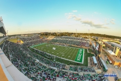 DENTON, TX - SEPTEMBER 01: General stadium view during the game between North Texas and SMU on September 1, 2018 at Apogee Stadium in Denton, TX. (Photo by George Walker/DFWsportsonline)