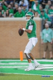 DENTON, TX - SEPTEMBER 01: North Texas Mean Green quarterback Mason Fine (6) passes during the game between North Texas and SMU on September 1, 2018 at Apogee Stadium in Denton, TX. (Photo by George Walker/Icon Sportswire)