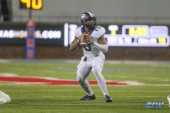 DALLAS, TX - SEPTEMBER 07: TCU Horned Frogs quarterback Shawn Robinson (3) passes during the game between TCU and SMU on September 7, 2018 at Gerald J. Ford Stadium in Dallas, TX. (Photo by George Walker/Icon Sportswire)