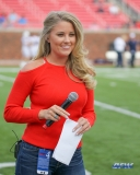 DALLAS, TX - SEPTEMBER 30: Brooke Williamson during the game between SMU and UConn on September 30, 2017, at Gerald J. Ford Stadium in Dallas, TX. (Photo by George Walker/DFWsportsonline)