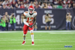 HOUSTON, TX - OCTOBER 08: Kansas City Chiefs wide receiver De'Anthony Thomas (13) during the game between the Houston Texans and Kansas City Chiefs on October 8, 2017, at NRG Stadium in Houston, TX. (Photo by George Walker/DFWsportsonline)
