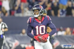 HOUSTON, TX - OCTOBER 08: Houston Texans wide receiver DeAndre Hopkins (10) during the game between the Houston Texans and Kansas City Chiefs on October 8, 2017, at NRG Stadium in Houston, TX. (Photo by George Walker/DFWsportsonline)